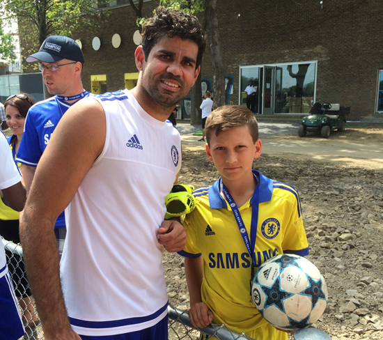 Meeting Diego Costa
