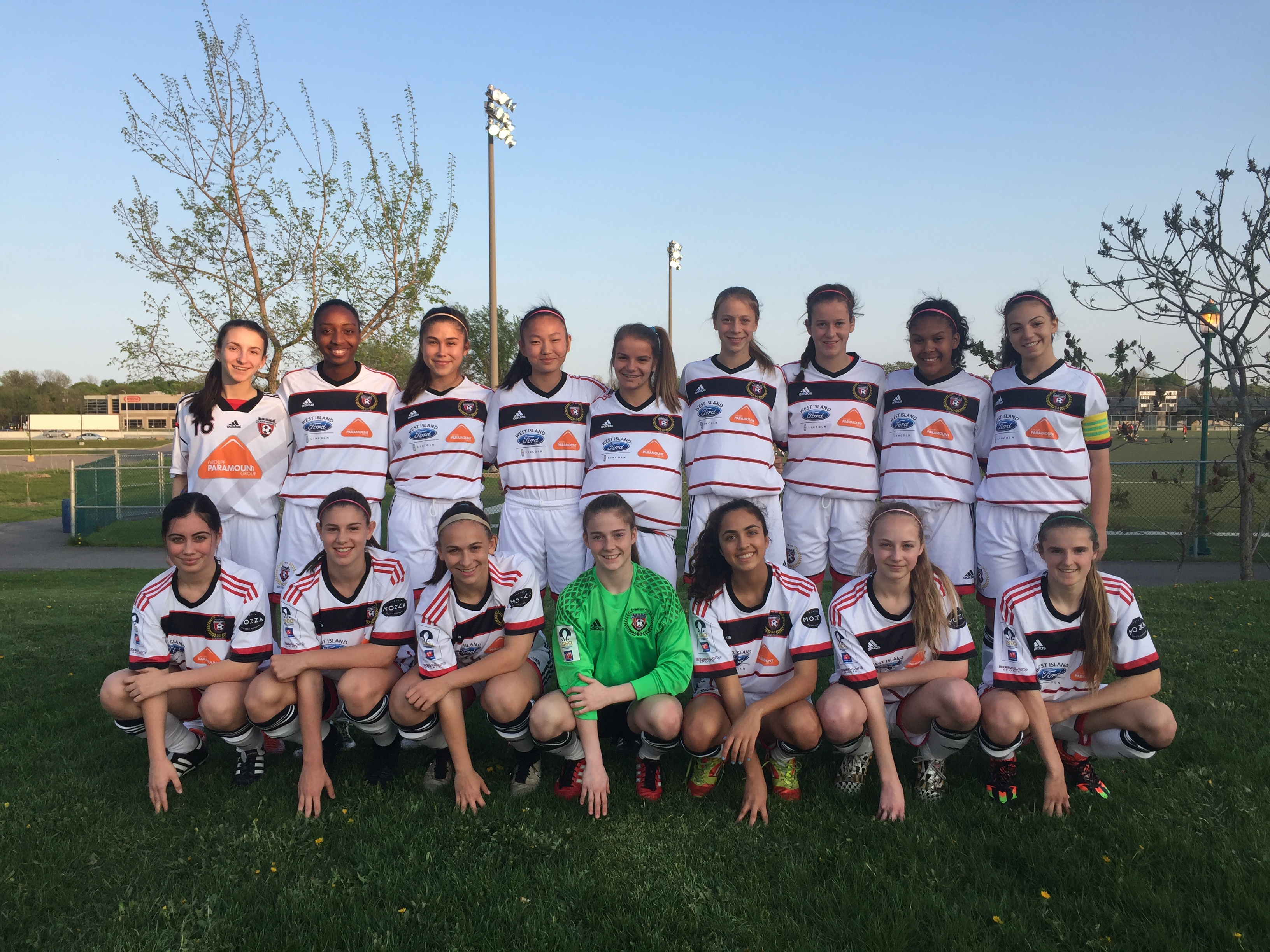 SMT-ASSY Supports The U16AAA Girls Lakeshore Team