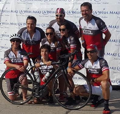 SMT-ASSY Sponsors Client's Cycling Team